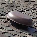Roof mushroom vent